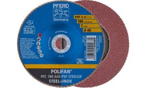 Лепестковый диск Д 180 мм A40