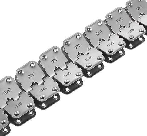 Соединительный замок U45 для конвейерной ленты толщиной от 7 до 11 мм