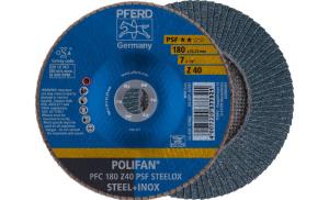 Лепестковый диск Д 180 мм Z40