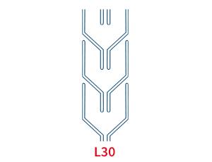 Шевронная лента C17 L300 EP400