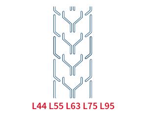 Шевронная лента C17 L630 EP250