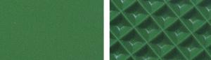 Конвейерная лента зеленая ПВХ глянцевая гладкая 2 мм тип 1 N 21