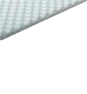 Конвейерная лента ПВХ белая пищевая вафельная рабочая поверхность 2,1 мм 8 Н/мм тип P25-24/1N FDA