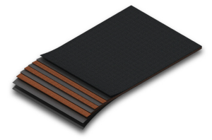 Прессующие ленты PEP 450/3 60CCI/CCI для пресс-подборщика толщина 6 мм (шероховатая поверхность)