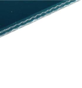 Конвейерная лента ПВХ гладкая 2 мм 8 Н/мм цвет морской волны тип P25-74A