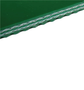 Конвейерная лента ПВХ зелёная гладкая 3,1 мм 12 Н/мм тип P21-11