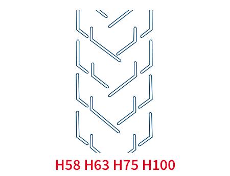 Шевронная лента C32 H630 EP250