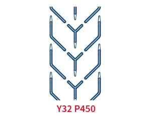 Шевронная лента C32 P450 EP250