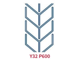 Шевронная лента C32 P600 EP400