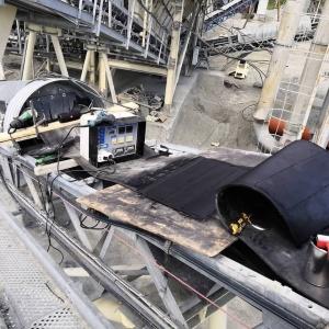 Соединение конвейерных лент методом горячей вулканизации