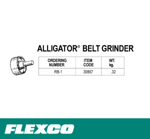 Alligator® Belt Grinder RB-1