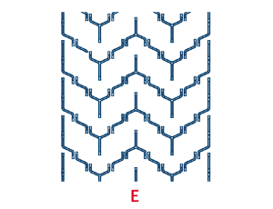 Шевронная лента маслостойкая C17 L1290 EP400 G